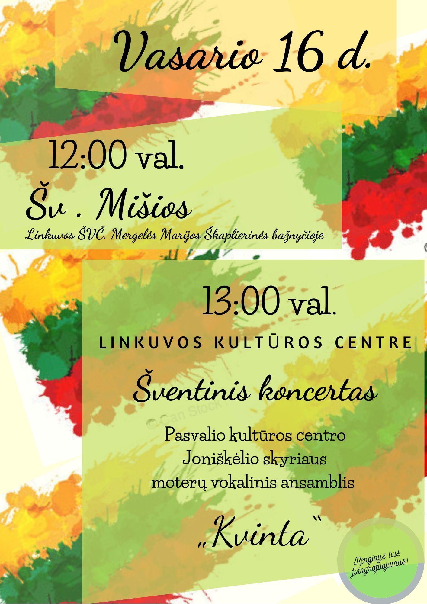Švęskime Lietuvos valstybės atkūrimo dieną kartu!