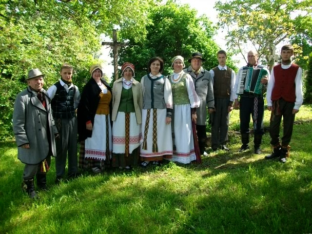 Folkloro ansamblių išvyka į Kirnaičius